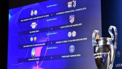 Photo of مواعيد مباريات دور ربع النهائي في دوري أبطال أوروبا 2020